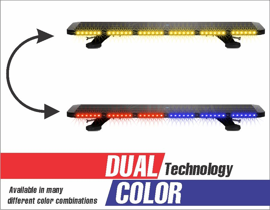 Dual Color Blade Cree Led Lights 34 Inch Led Outfitters